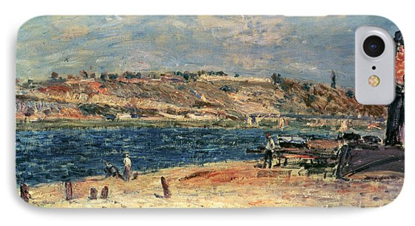 River Banks At Saint-mammes IPhone Case by Alfred Sisley