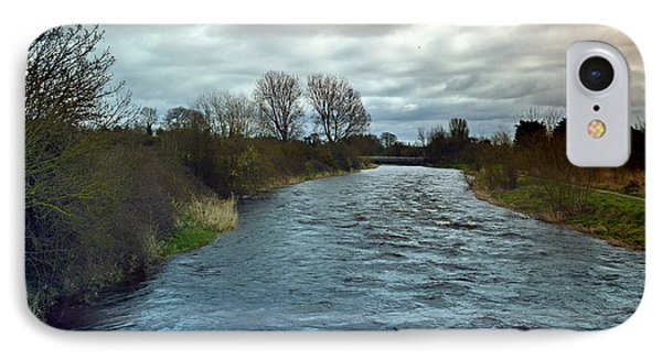 River Boyne. IPhone Case by Terence Davis