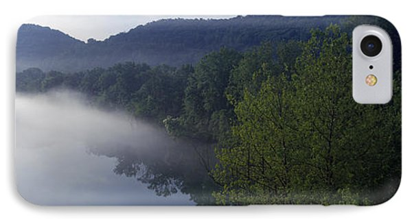 River Flowing In A Forest IPhone Case by Panoramic Images