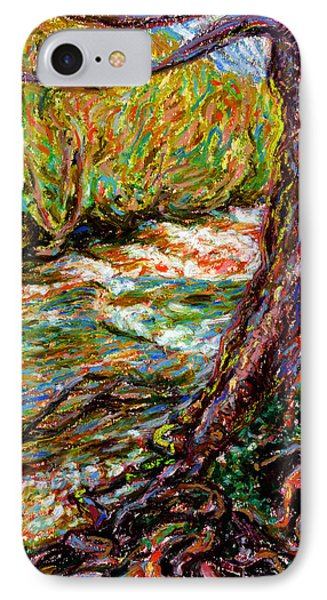 River Hafren In September Phone Case by Alexandra Cook
