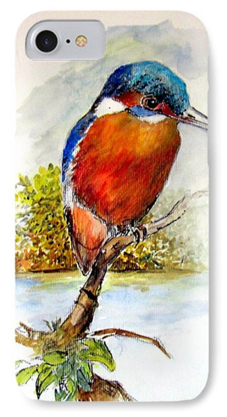 River Kingfisher IPhone Case