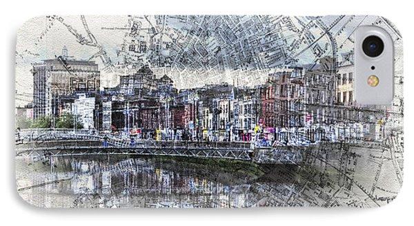 River Liffey Dublin IPhone Case