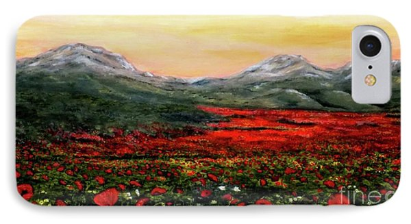 River Of Poppies IPhone Case