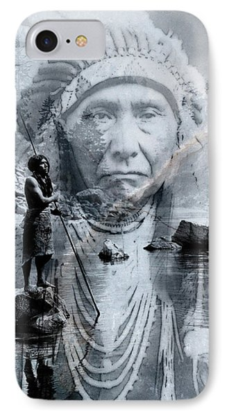 IPhone Case featuring the digital art River Of Sorrow by Kathleen Holley