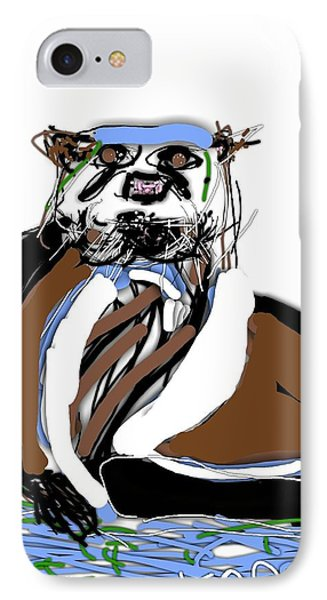 River Otter Stare IPhone Case