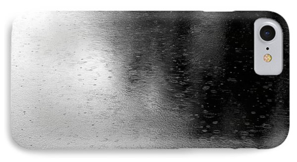 River Rain  Naperville Illinois IPhone Case by Michael Bessler