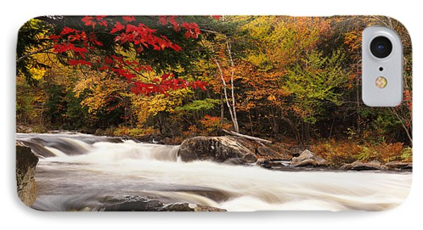 River Rapids Fall Nature Scenery Phone Case by Oleksiy Maksymenko