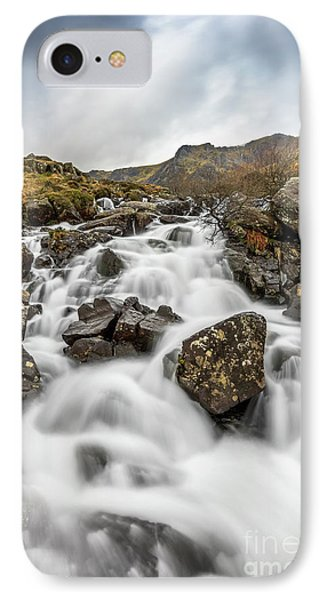 River Rapids Snowdonia Phone Case by Adrian Evans