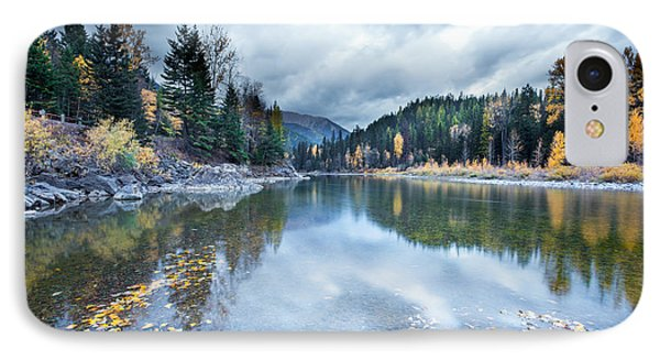 IPhone Case featuring the photograph River Reflections by Fran Riley
