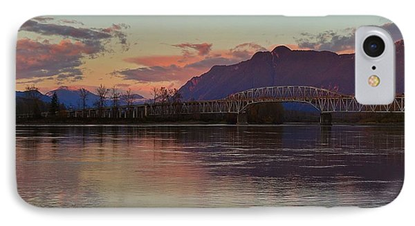 Fraser River, British Columbia IPhone Case by Heather Vopni