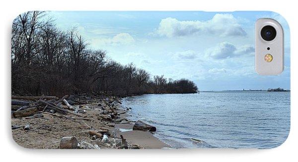 Delaware River Shoreline IPhone Case