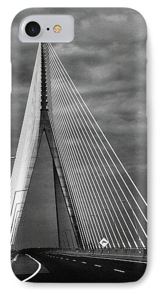 IPhone Case featuring the photograph River Suir Bridge. by Terence Davis