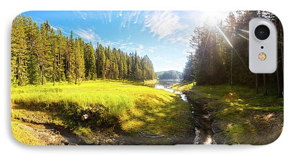 River Valley Phone Case by Evgeni Dinev