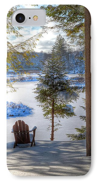 River View IPhone Case by David Patterson