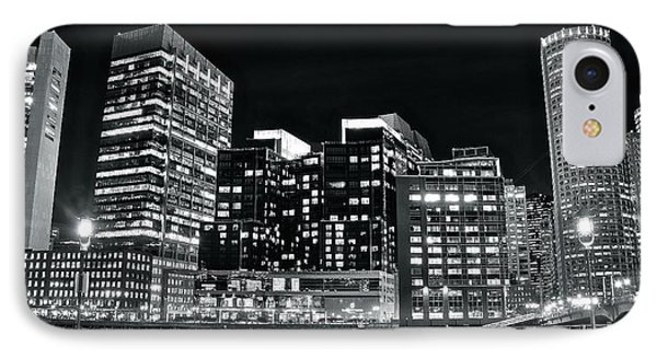 Riverfront Black And White IPhone Case by Frozen in Time Fine Art Photography