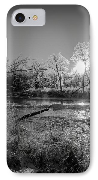 IPhone Case featuring the photograph Rivers Edge by Annette Berglund
