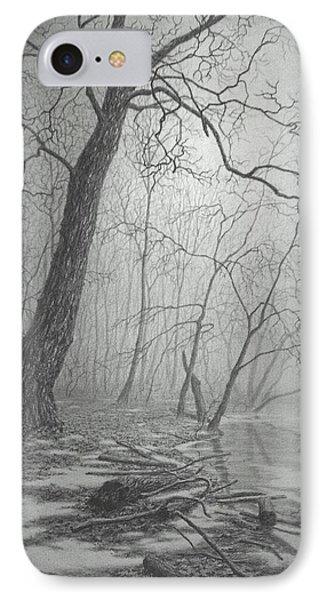 Rivers Edge IPhone Case by Barry DeBaun