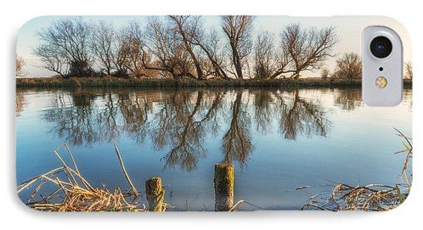 Riverside Trees IPhone Case