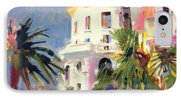 Riviera Balcony IPhone Case by Peter Graham