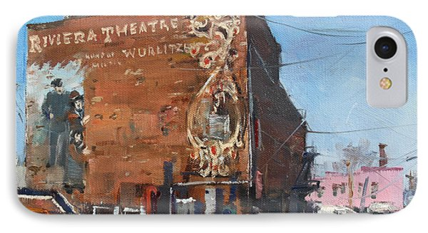 Riviera Theatre Historic Place In North Tonawanda IPhone Case by Ylli Haruni