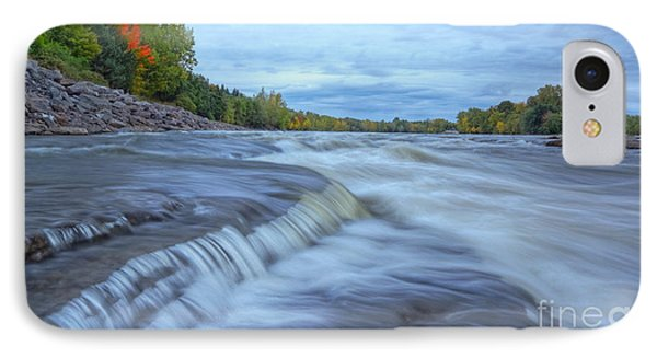Riviere Des Prairies Panorama Phone Case by Mircea Costina Photography