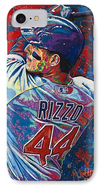 Rizzo Swings IPhone Case by Maria Arango