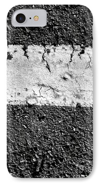 Road Line And Pavement Details IPhone Case
