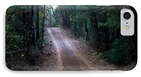 IPhone Case featuring the photograph Road Not Taken by Betty Northcutt