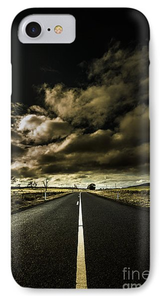 Road Of Coming Darkness IPhone Case