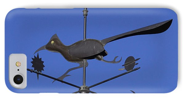 IPhone Case featuring the photograph Road Runner Weather Vane by Joan Hartenstein