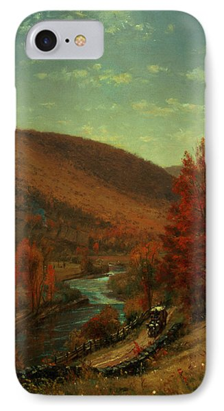 Road Through Belvedere IPhone Case by Thomas Worthington
