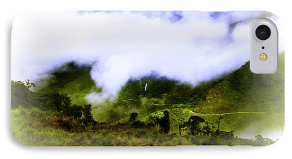 Road Through The Andes Phone Case by Al Bourassa