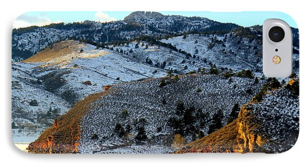 Road To Horsetooth 2 IPhone Case by Diane M Dittus
