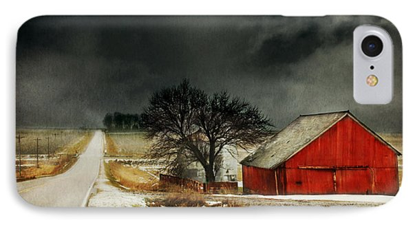 Road To Nowhere IPhone Case by Julie Hamilton