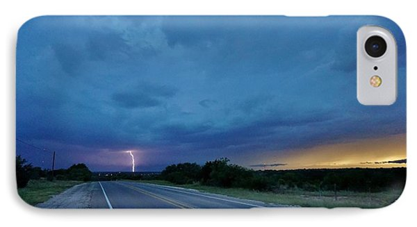 Lightning Over Sonora IPhone Case