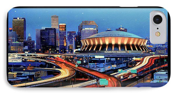 Road To The Dome IPhone Case by Mike Roberts