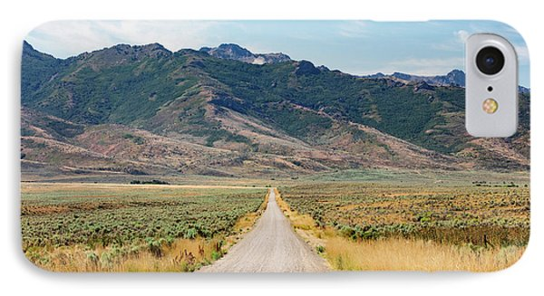 Road To The Rubies IPhone Case by Todd Klassy