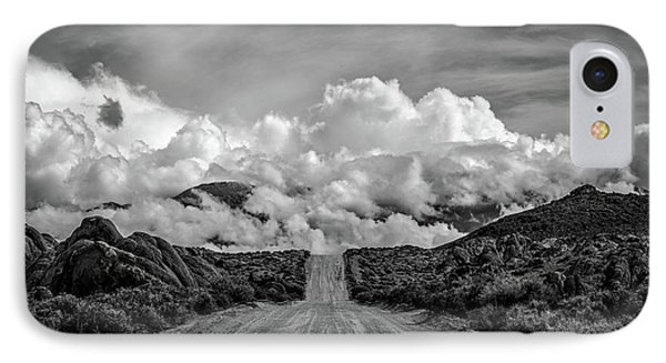 Road To The Sky IPhone Case by Peter Tellone