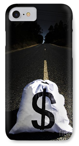 Road To Wealth And Financial Gain IPhone Case