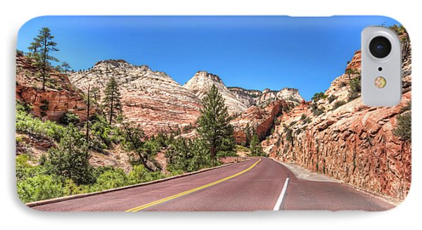 Road To Zion IPhone Case by Brent Durken