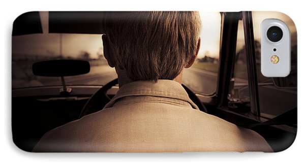Road Trip Down Memory Lane IPhone Case by Jorgo Photography - Wall Art Gallery