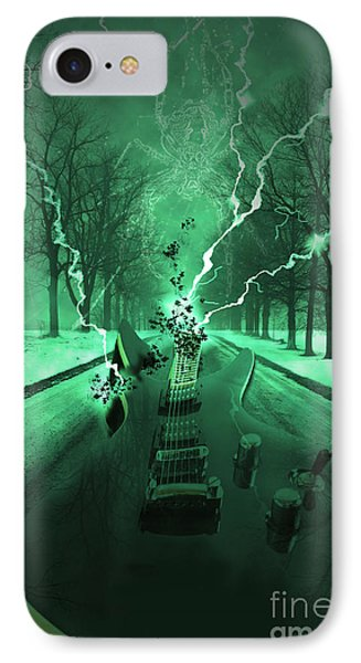 Road Trip Effects  IPhone Case by Cathy  Beharriell