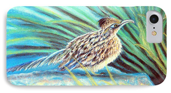 Roadrunner Fluffing Sold   Pastel IPhone Case by Antonia Citrino