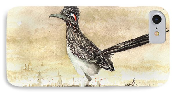 Roadrunner IPhone 7 Case by Sam Sidders