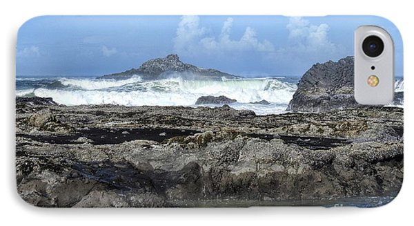IPhone Case featuring the photograph Roads End by Peggy Hughes