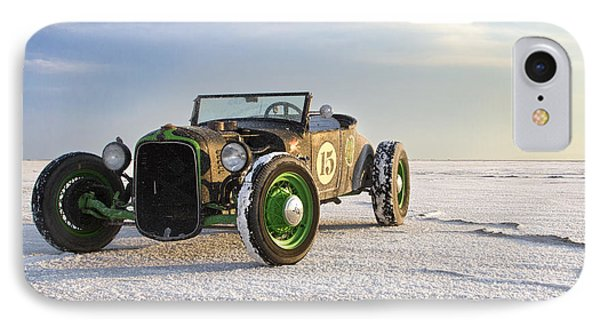 Roadster On The Salt Flats 2012 IPhone Case