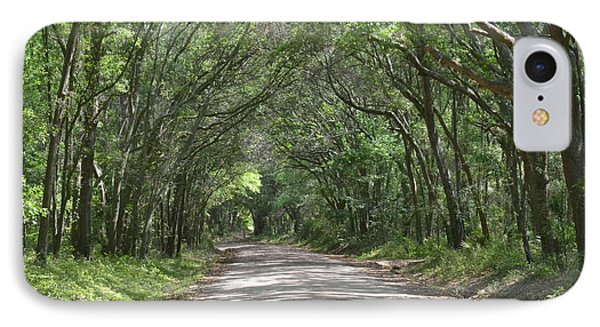 IPhone Case featuring the photograph Roadway To Mitchellville Beach by Carol  Bradley
