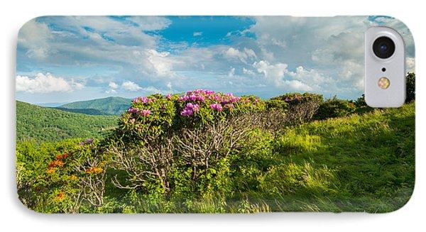Roan Highlands Grassy Ridge Appalachian Trail IPhone Case by Rick Dunnuck