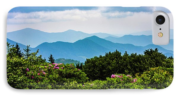 Roan Mountain Rhodos IPhone Case by Dale R Carlson