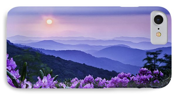 Roan Mountain Sunset Phone Case by Rob Travis